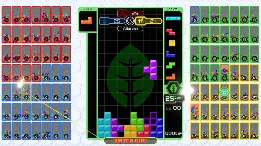Team Battle Mode Tetris 99