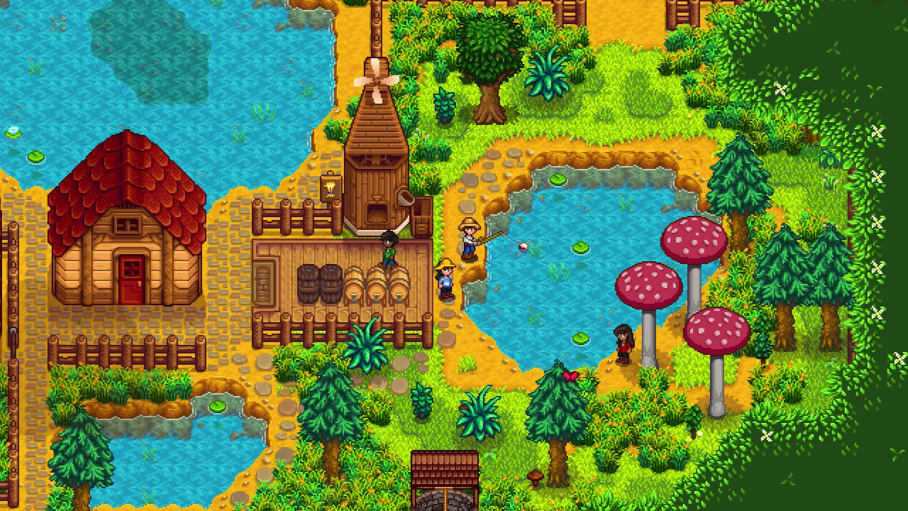Two unannounced games will expand Stardew Valley's cinematic universe