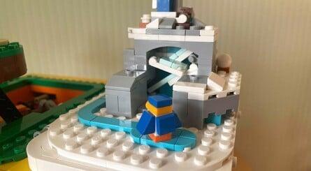 Lego Mario Block Penguins