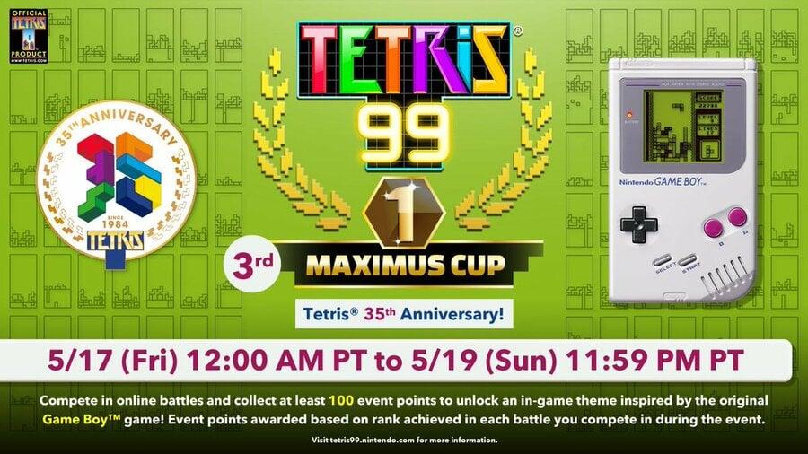 Tetris 99 - Maximus Cup Game Boy Theme