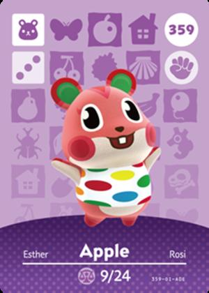 Apple amiibo card