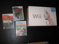 Wii, Zelda, Red Steel & Monkey Ball