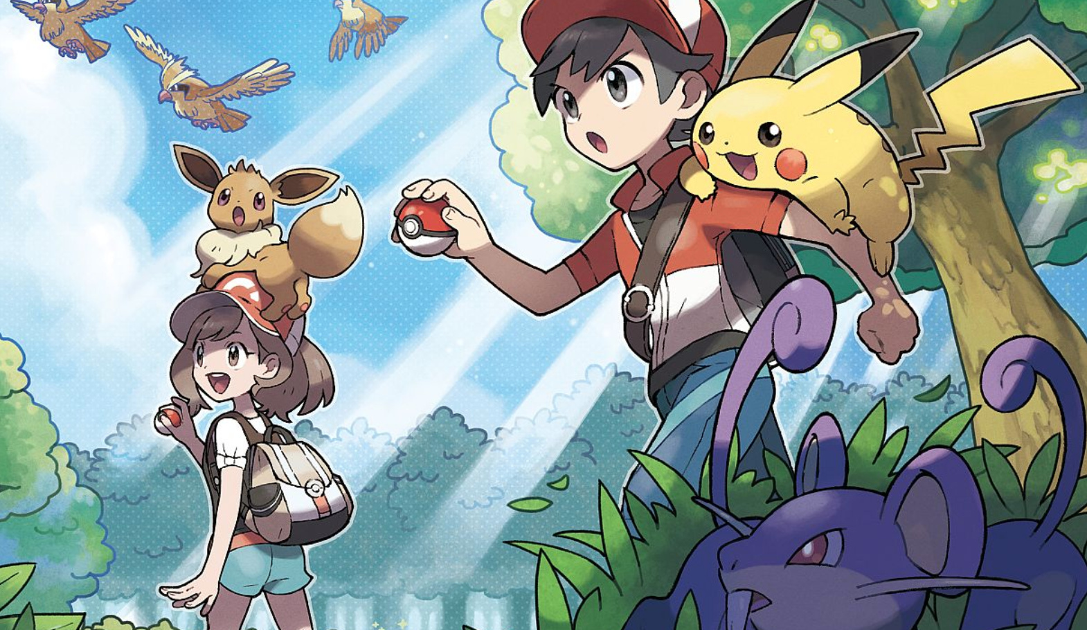Pokemon Let's Go: Easiest Way To Get Kanto Region Starters