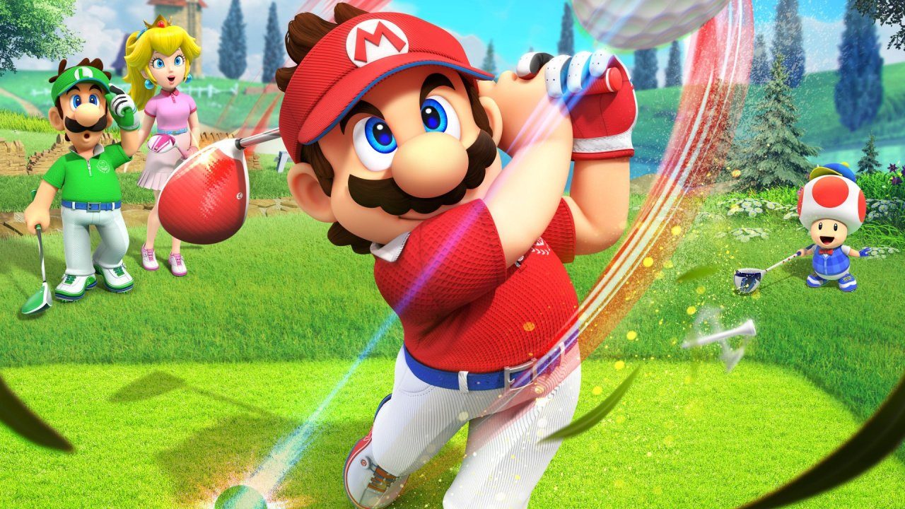 The 'Second Free Update' For Mario Golf: Super Rush Swings Onto Switch Today