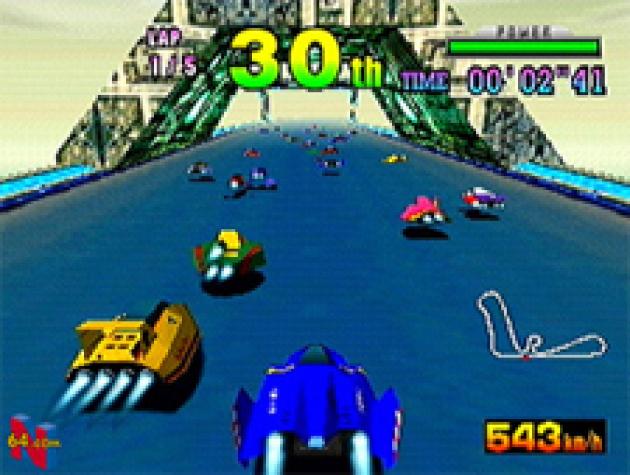 F-Zero X on the N64