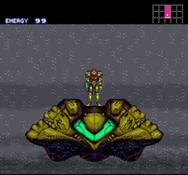 Samus starts one of her greatest missions!