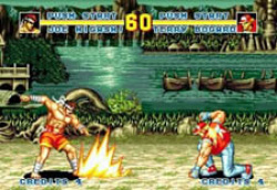 The legendary fighter, Fatal Fury!
