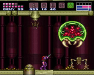 The titular Super Metroid!