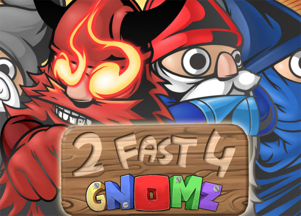 2 Fast 4 Gnomz Cover Artwork