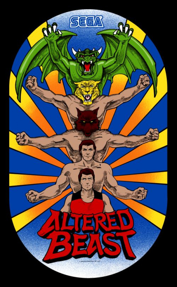 3D Altered Beast Review (3DS EShop)