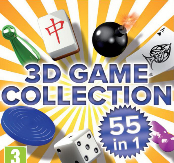 3D Game Collection Cover Artwork