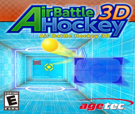 Air Battle Hockey 3D Cover Artwork