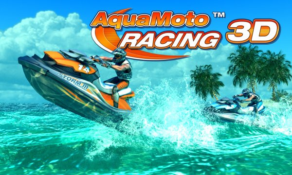 Aqua Moto Racing 3D Cover Artwork