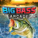 Big Bass Arcade: No Limit Cover (Click to enlarge)