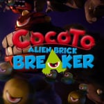 Cocoto Alien Brick Breaker Cover (Click to enlarge)