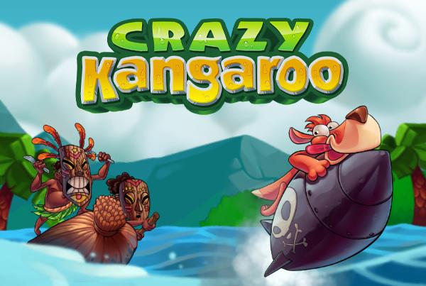 Crazy Kangaroo Cover Artwork