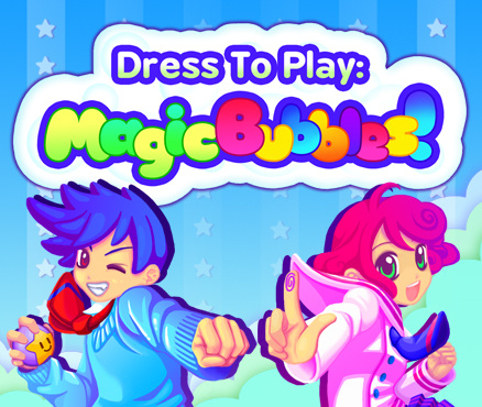 Dress To Play: Magic Bubbles! Cover Artwork