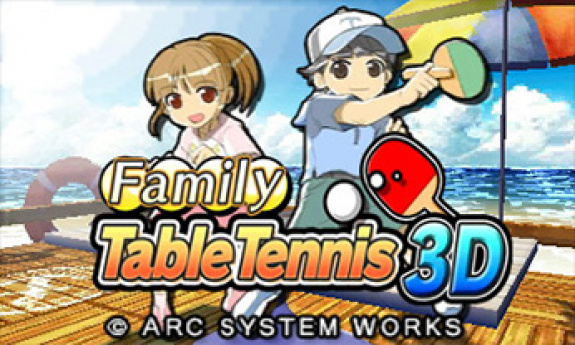 Family Table Tennis 3D