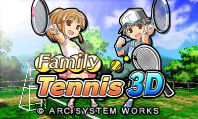 Family Tennis 3D Cover Artwork