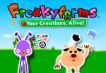 Freakyforms: Your Creations, Alive! Cover (Click to enlarge)