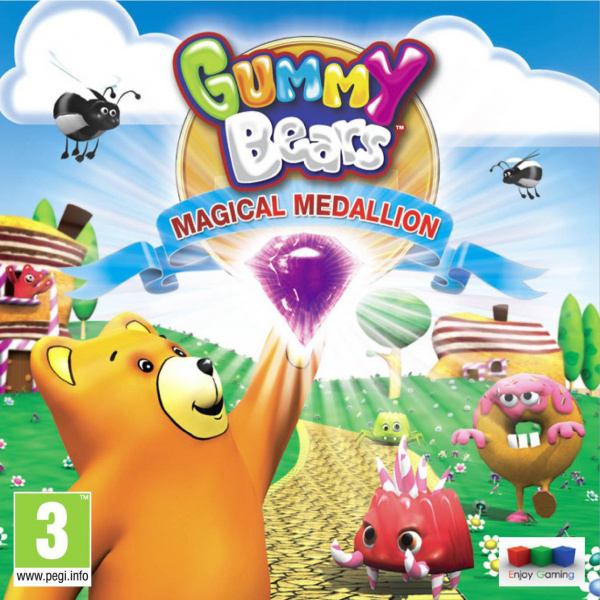 Gummy Bears Magical Medallion Cover Artwork