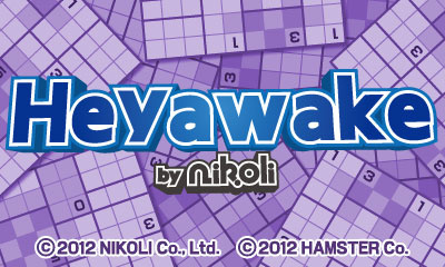 Heyawake by Nikoli Cover Artwork