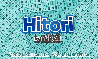 Hitori by Nikoli Cover Artwork