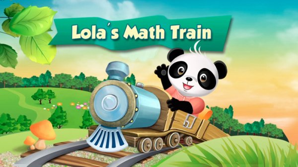 Lola's Math Train Cover Artwork