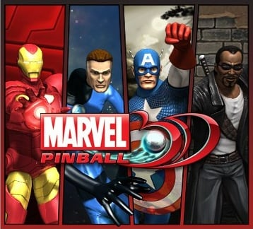 Marvel Pinball 3D Cover Artwork