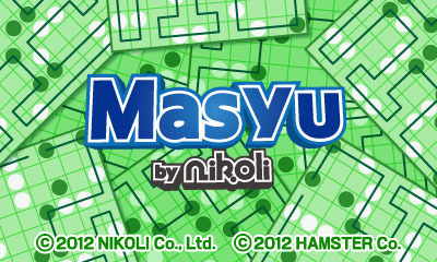 Masyu by Nikoli Cover Artwork