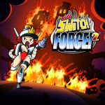 Mighty Switch Force! 2 Cover (Click to enlarge)
