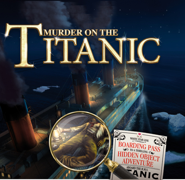 Murder on the Titanic Cover Artwork