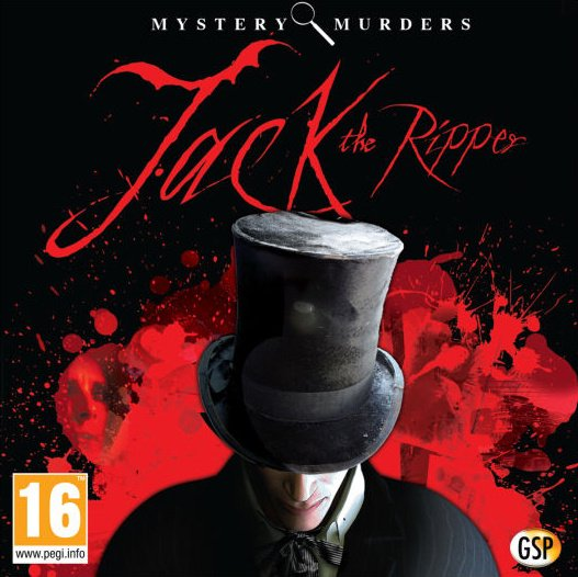 Mystery Murders: Jack the Ripper Cover Artwork