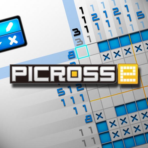 Picross e Cover Artwork