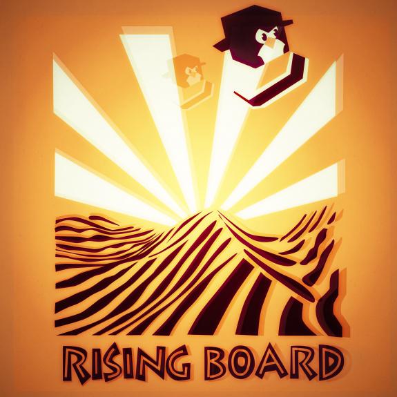 Rising Board 3D