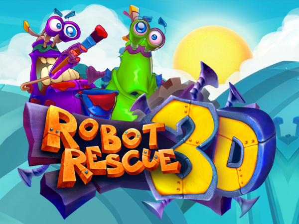Robot Rescue 3D Cover Artwork