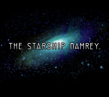 The Starship Damrey Cover Artwork