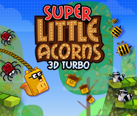Super Little Acorns 3D Turbo Cover Artwork