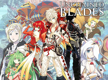 Unchained Blades Cover Artwork