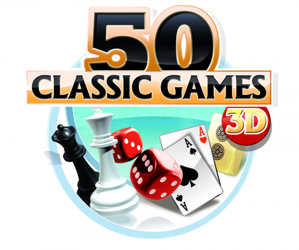 50 Classic Games 3D Cover Artwork