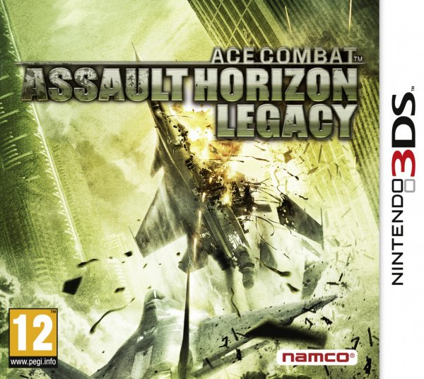 Ace Combat: Assault Horizon Legacy Cover Artwork