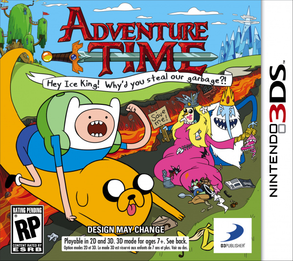 Adventure Time: Hey Ice King! Why'd You Steal Our Garbage?! Cover Artwork