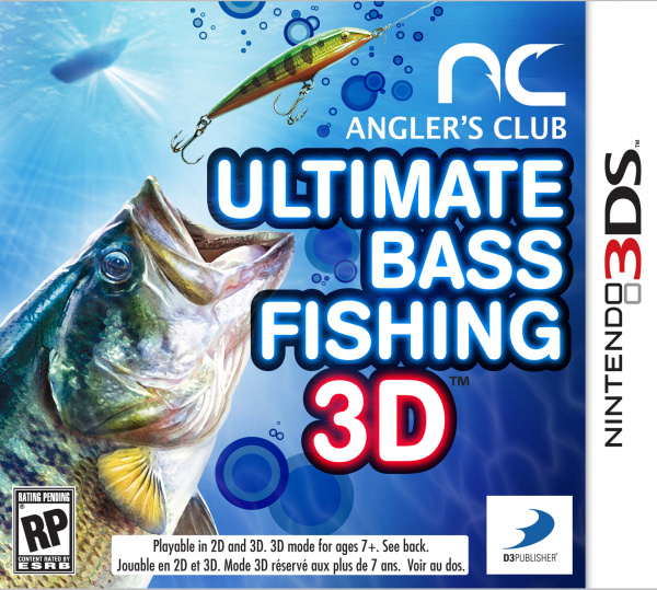 Angler's Club: Ultimate Bass Fishing 3D Cover Artwork