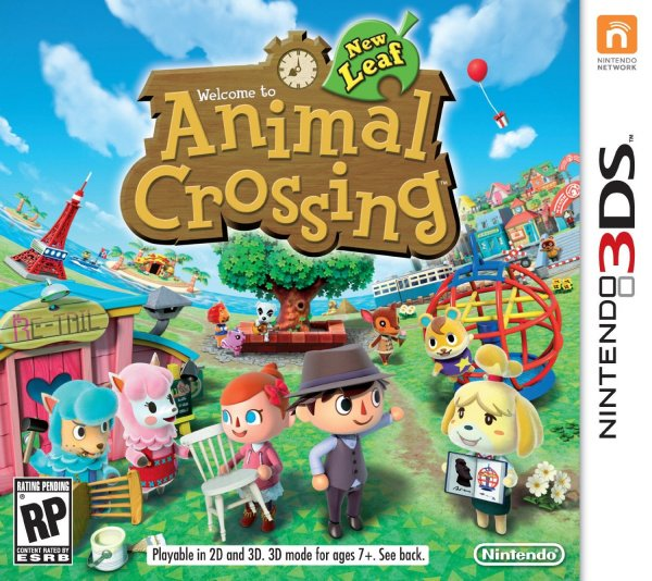 Animal Crossing: New Leaf Cover Artwork