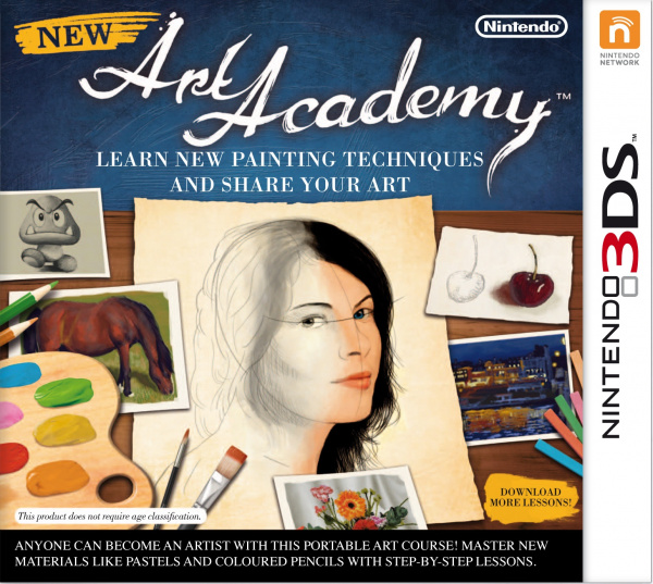 Art Academy: Lessons for Everyone! Cover Artwork