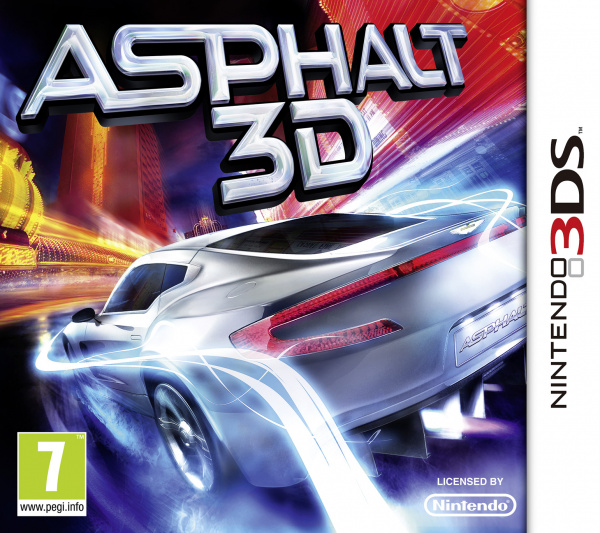 Asphalt 3D Cover Artwork