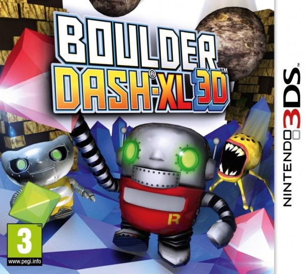 Boulder Dash-XL 3D Cover Artwork