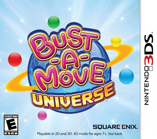 Bust-A-Move Universe Cover Artwork