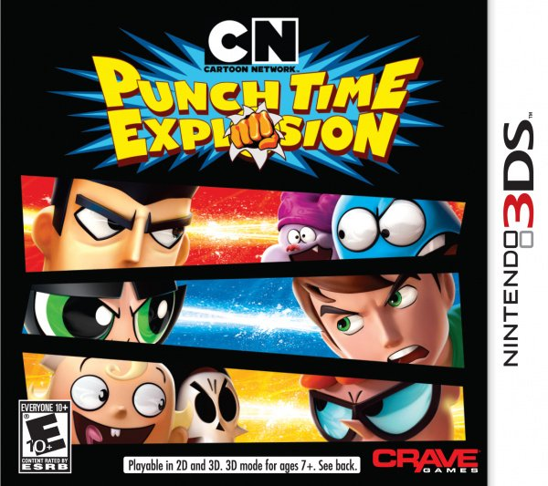 Cartoon Network Punch Time Explosion Cover Artwork