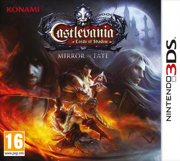 Castlevania: Lords of Shadow - Mirror of Fate Cover Artwork